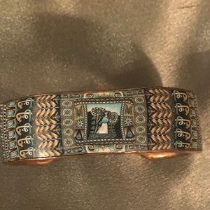 Garden Copper cuff